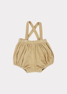 <img class='new_mark_img1' src='https://img.shop-pro.jp/img/new/icons20.gif' style='border:none;display:inline;margin:0px;padding:0px;width:auto;' />CARAMEL    Dunlin Baby Romper/ Flax. 30%off
