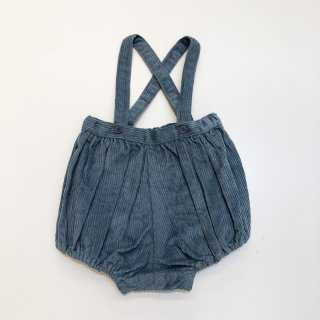 <img class='new_mark_img1' src='https://img.shop-pro.jp/img/new/icons20.gif' style='border:none;display:inline;margin:0px;padding:0px;width:auto;' />CARAMEL    Dunlin Baby Romper/ steel blue cord 30%off