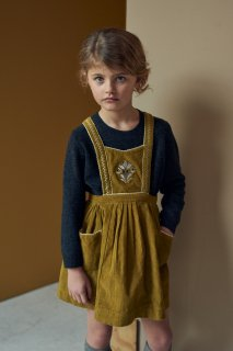 <img class='new_mark_img1' src='https://img.shop-pro.jp/img/new/icons20.gif' style='border:none;display:inline;margin:0px;padding:0px;width:auto;' />CARAMEL    GOOSE PINAFORE /  Mustard 30%off