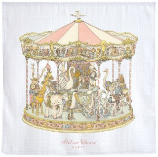 <img class='new_mark_img1' src='https://img.shop-pro.jp/img/new/icons14.gif' style='border:none;display:inline;margin:0px;padding:0px;width:auto;' />Atelier Choux Paris  /  CARRÉ – CAROUSEL  last one!