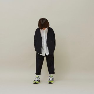 <img class='new_mark_img1' src='https://img.shop-pro.jp/img/new/icons14.gif' style='border:none;display:inline;margin:0px;padding:0px;width:auto;' />MOUN TEN.    double cloth stretch pants / black