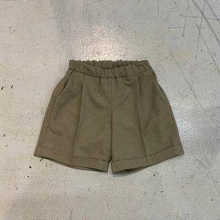 <img class='new_mark_img1' src='https://img.shop-pro.jp/img/new/icons14.gif' style='border:none;display:inline;margin:0px;padding:0px;width:auto;' />MOUN TEN.    polyester canapa1tuck shorts / khaki