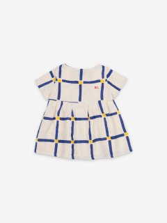 <img class='new_mark_img1' src='https://img.shop-pro.jp/img/new/icons14.gif' style='border:none;display:inline;margin:0px;padding:0px;width:auto;' />BOBO CHOSES  Baby  Cube All Over Buttoned Dress