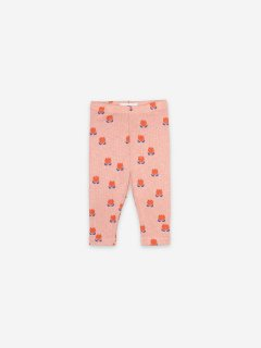 <img class='new_mark_img1' src='https://img.shop-pro.jp/img/new/icons20.gif' style='border:none;display:inline;margin:0px;padding:0px;width:auto;' />BOBO CHOSES  Baby  Chocolate Flowers All Over Leggings  30%OFF 6-12m last one!