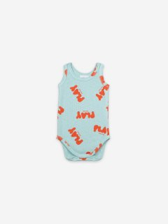 <img class='new_mark_img1' src='https://img.shop-pro.jp/img/new/icons14.gif' style='border:none;display:inline;margin:0px;padding:0px;width:auto;' />BOBO CHOSES  Baby Play All Over Sleeveless Body