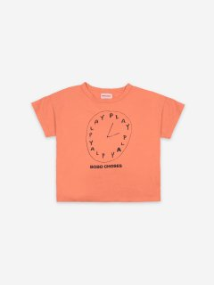 <img class='new_mark_img1' src='https://img.shop-pro.jp/img/new/icons14.gif' style='border:none;display:inline;margin:0px;padding:0px;width:auto;' />BOBO CHOSES  Kids  Playtime Short Sleeve T-Shirt