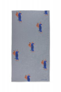 <img class='new_mark_img1' src='https://img.shop-pro.jp/img/new/icons14.gif' style='border:none;display:inline;margin:0px;padding:0px;width:auto;' />TINYCOTTONS   DOGGY PADDLE TOWEL  summer grey/iris blue
