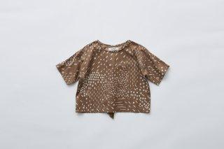 <img class='new_mark_img1' src='https://img.shop-pro.jp/img/new/icons14.gif' style='border:none;display:inline;margin:0px;padding:0px;width:auto;' />eLfin Folk  QiLin T shirts / brown