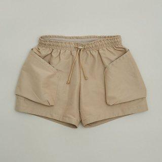 <img class='new_mark_img1' src='https://img.shop-pro.jp/img/new/icons14.gif' style='border:none;display:inline;margin:0px;padding:0px;width:auto;' />MOUN TEN.   60/40 grosgrain pocket shorts  / beige. 0(155cm) last one!