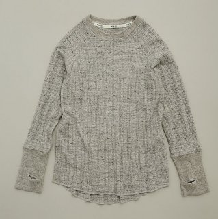 <img class='new_mark_img1' src='https://img.shop-pro.jp/img/new/icons14.gif' style='border:none;display:inline;margin:0px;padding:0px;width:auto;' />MOUN TEN.  vintage rib long sleeve / heathergray