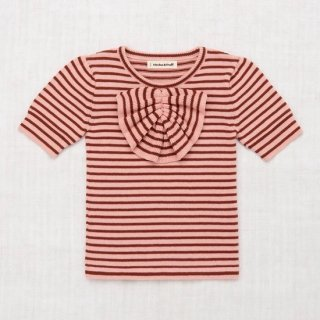 <img class='new_mark_img1' src='https://img.shop-pro.jp/img/new/icons14.gif' style='border:none;display:inline;margin:0px;padding:0px;width:auto;' />MISHA&PUFF   Frankie Bow Top - Rose Blush