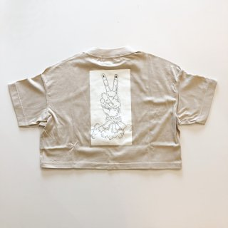 <img class='new_mark_img1' src='https://img.shop-pro.jp/img/new/icons14.gif' style='border:none;display:inline;margin:0px;padding:0px;width:auto;' />UNIONINI   peace rocket tee / beige