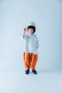 <img class='new_mark_img1' src='https://img.shop-pro.jp/img/new/icons14.gif' style='border:none;display:inline;margin:0px;padding:0px;width:auto;' />nunuforme   Kids オックスポインテッドパンツ /   Orange