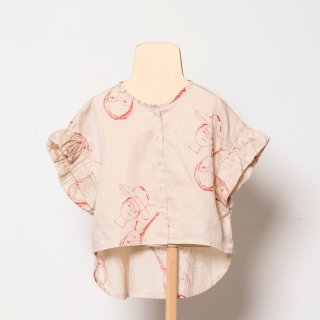 <img class='new_mark_img1' src='https://img.shop-pro.jp/img/new/icons14.gif' style='border:none;display:inline;margin:0px;padding:0px;width:auto;' />folk made  face print blouse / beige print