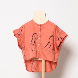 <img class='new_mark_img1' src='https://img.shop-pro.jp/img/new/icons14.gif' style='border:none;display:inline;margin:0px;padding:0px;width:auto;' />folk made  face print blouse / pink rose print