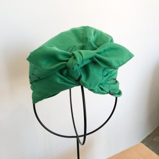 <img class='new_mark_img1' src='https://img.shop-pro.jp/img/new/icons14.gif' style='border:none;display:inline;margin:0px;padding:0px;width:auto;' />folk made  face print turban / green