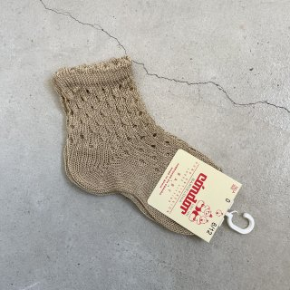 <img class='new_mark_img1' src='https://img.shop-pro.jp/img/new/icons14.gif' style='border:none;display:inline;margin:0px;padding:0px;width:auto;' />CONDOR  Openwork extrafine perle short socks with fancy cuf / rope 331