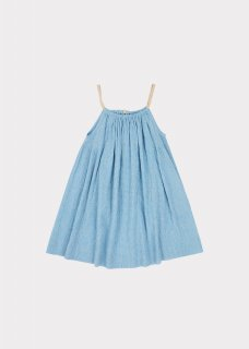 <img class='new_mark_img1' src='https://img.shop-pro.jp/img/new/icons14.gif' style='border:none;display:inline;margin:0px;padding:0px;width:auto;' />CARAMEL  CONE FISH DRESS /  BLUE  MICROCHECK  3y 4y 6y