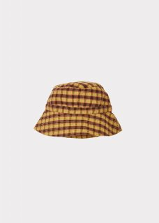 <img class='new_mark_img1' src='https://img.shop-pro.jp/img/new/icons14.gif' style='border:none;display:inline;margin:0px;padding:0px;width:auto;' />CARAMEL  HIPPOCAMPUS SUNHAT /  MUSTARD CHECK