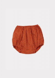 <img class='new_mark_img1' src='https://img.shop-pro.jp/img/new/icons14.gif' style='border:none;display:inline;margin:0px;padding:0px;width:auto;' />CARAMEL  GROUPER BABY BLOOMER /  RUST DOT 18m last one!