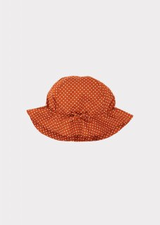 <img class='new_mark_img1' src='https://img.shop-pro.jp/img/new/icons14.gif' style='border:none;display:inline;margin:0px;padding:0px;width:auto;' /> CARAMEL  MARLIN BABY HAT / RUST DOT  S