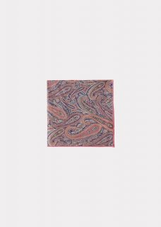 <img class='new_mark_img1' src='https://img.shop-pro.jp/img/new/icons14.gif' style='border:none;display:inline;margin:0px;padding:0px;width:auto;' /> CARAMEL  TREASURE SCARF / PAISLEY PARK PINK 51×51