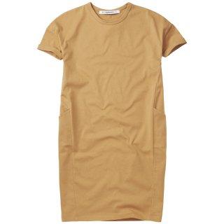 <img class='new_mark_img1' src='https://img.shop-pro.jp/img/new/icons14.gif' style='border:none;display:inline;margin:0px;padding:0px;width:auto;' />MINGO   T-shirt  dress /  light ochre