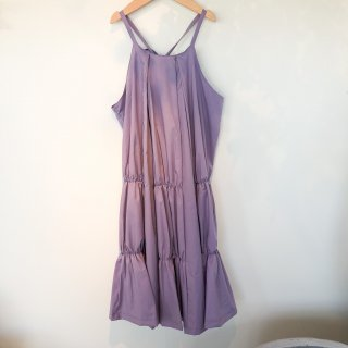 <img class='new_mark_img1' src='https://img.shop-pro.jp/img/new/icons20.gif' style='border:none;display:inline;margin:0px;padding:0px;width:auto;' />UNIONINI   shirring dress / lavender 30%OFF 8-10y last one!