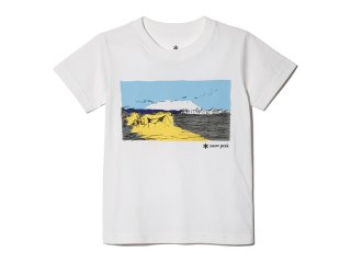 <img class='new_mark_img1' src='https://img.shop-pro.jp/img/new/icons20.gif' style='border:none;display:inline;margin:0px;padding:0px;width:auto;' />Snow peak  Snow peak  Kids Printed Tshirt Campfield / white 30%OFF