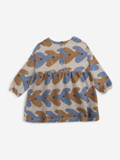 <img class='new_mark_img1' src='https://img.shop-pro.jp/img/new/icons14.gif' style='border:none;display:inline;margin:0px;padding:0px;width:auto;' />BOBO CHOSES  BABY  Birds All Over jersey dress