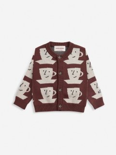 <img class='new_mark_img1' src='https://img.shop-pro.jp/img/new/icons14.gif' style='border:none;display:inline;margin:0px;padding:0px;width:auto;' />BOBO CHOSES  BABY  Cup Of Tea knitted cardigan