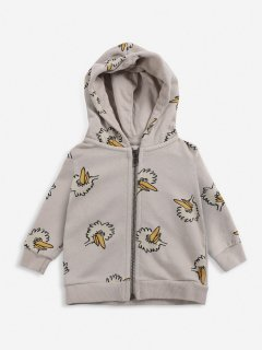 <img class='new_mark_img1' src='https://img.shop-pro.jp/img/new/icons14.gif' style='border:none;display:inline;margin:0px;padding:0px;width:auto;' />BOBO CHOSES  BABY  Birdie All Over zipped hoodie  18-24m last one!