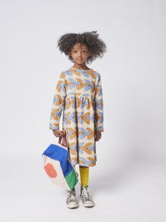 <img class='new_mark_img1' src='https://img.shop-pro.jp/img/new/icons14.gif' style='border:none;display:inline;margin:0px;padding:0px;width:auto;' />BOBO CHOSES  KIDS  Birds All Over dress