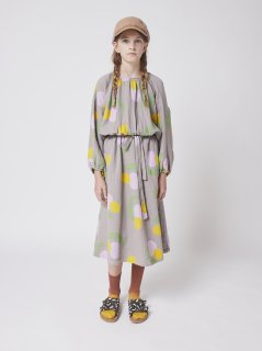 <img class='new_mark_img1' src='https://img.shop-pro.jp/img/new/icons14.gif' style='border:none;display:inline;margin:0px;padding:0px;width:auto;' />BOBO CHOSES  KIDS  Fruits All Over woven dress