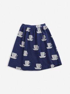 <img class='new_mark_img1' src='https://img.shop-pro.jp/img/new/icons14.gif' style='border:none;display:inline;margin:0px;padding:0px;width:auto;' />BOBO CHOSES  KIDS  Cup Of Tea All Over jersey midi skirt