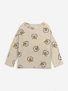 <img class='new_mark_img1' src='https://img.shop-pro.jp/img/new/icons14.gif' style='border:none;display:inline;margin:0px;padding:0px;width:auto;' />BOBO CHOSES  KIDS  Birdie All Over long sleeve T-shirt 6-7y last one!