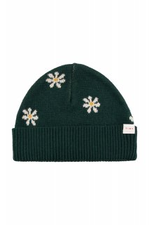 <img class='new_mark_img1' src='https://img.shop-pro.jp/img/new/icons14.gif' style='border:none;display:inline;margin:0px;padding:0px;width:auto;' />TINYCOTTONS   DAISIES BEANIE  dark green/light cream