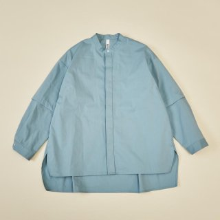 <img class='new_mark_img1' src='https://img.shop-pro.jp/img/new/icons14.gif' style='border:none;display:inline;margin:0px;padding:0px;width:auto;' />MOUN TEN.    detachable shirts  / sax
