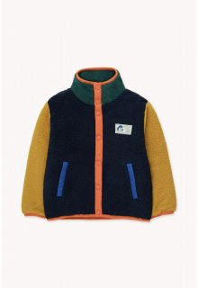 <img class='new_mark_img1' src='https://img.shop-pro.jp/img/new/icons14.gif' style='border:none;display:inline;margin:0px;padding:0px;width:auto;' />TINYCOTTONS   COLOR BLOCK POLAR JACKET deep blue/honey