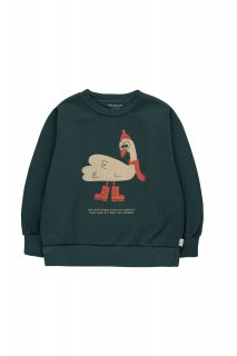 <img class='new_mark_img1' src='https://img.shop-pro.jp/img/new/icons14.gif' style='border:none;display:inline;margin:0px;padding:0px;width:auto;' />TINYCOTTONS   SWAN EXPLORER SWEATSHIRT.  ink blue/cappuccino