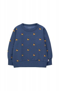 <img class='new_mark_img1' src='https://img.shop-pro.jp/img/new/icons14.gif' style='border:none;display:inline;margin:0px;padding:0px;width:auto;' />TINYCOTTONS   DOGS SWEATSHIRT soft blue/honey