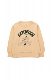 <img class='new_mark_img1' src='https://img.shop-pro.jp/img/new/icons14.gif' style='border:none;display:inline;margin:0px;padding:0px;width:auto;' />TINYCOTTONS   EXPEDITION TINY SWEATSHIRT cappuccino/dark green