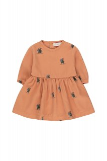 <img class='new_mark_img1' src='https://img.shop-pro.jp/img/new/icons14.gif' style='border:none;display:inline;margin:0px;padding:0px;width:auto;' />TINYCOTTONS   EXPLORERS BABY DRESS  clay/ink blue