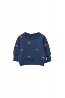 <img class='new_mark_img1' src='https://img.shop-pro.jp/img/new/icons14.gif' style='border:none;display:inline;margin:0px;padding:0px;width:auto;' />TINYCOTTONS   DOGS BABY SWEATSHIRT  soft blue/honey