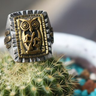 NIINAxCACTUS CLUB OWL MEXICANRING