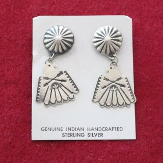 NAVAJO EARRING<img class='new_mark_img2' src='https://img.shop-pro.jp/img/new/icons5.gif' style='border:none;display:inline;margin:0px;padding:0px;width:auto;' />