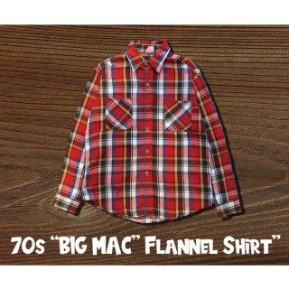 70s BIC MAC FLANNEL SHIRT