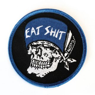 Suicidal Embroidered 'Eat Shit' Patch<img class='new_mark_img2' src='https://img.shop-pro.jp/img/new/icons5.gif' style='border:none;display:inline;margin:0px;padding:0px;width:auto;' />