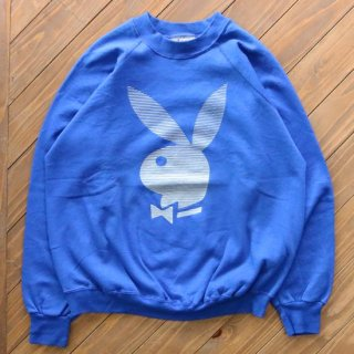 80s PLAYBOY RABBIT HEAD CREW<img class='new_mark_img2' src='https://img.shop-pro.jp/img/new/icons5.gif' style='border:none;display:inline;margin:0px;padding:0px;width:auto;' />
