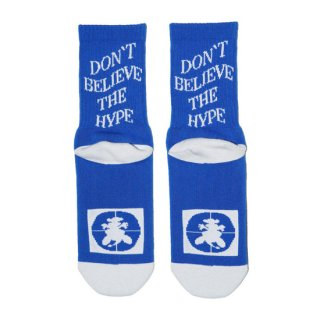 DON'T BELIEVE THE HYPE SOCKS<img class='new_mark_img2' src='https://img.shop-pro.jp/img/new/icons5.gif' style='border:none;display:inline;margin:0px;padding:0px;width:auto;' />